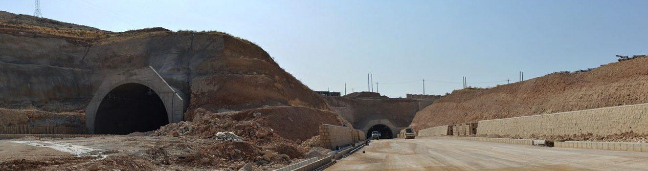 بتن تونل شیراز