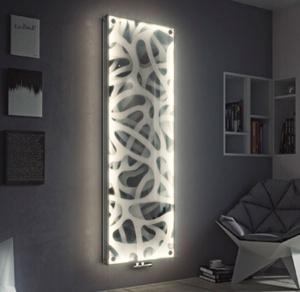 رادیاتور شیشه ای ال ای دی