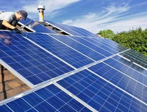 پنل های خورشیدی برای ساختمان ها