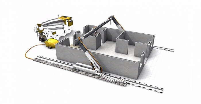 پرینترهای سه بعدی در صنعت ساختمان